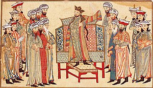 Mahmud in robe from the caliph.jpg