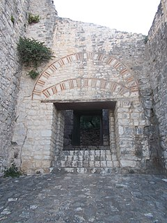 castle in Corfu, Greece