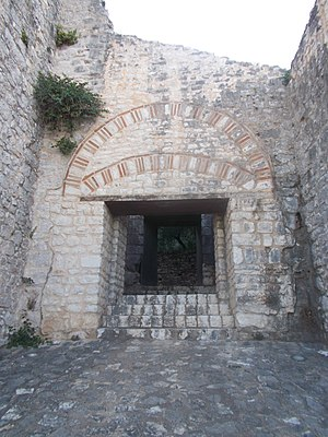 Kassiopi Castle - Main Gate of Kassiopi Castle