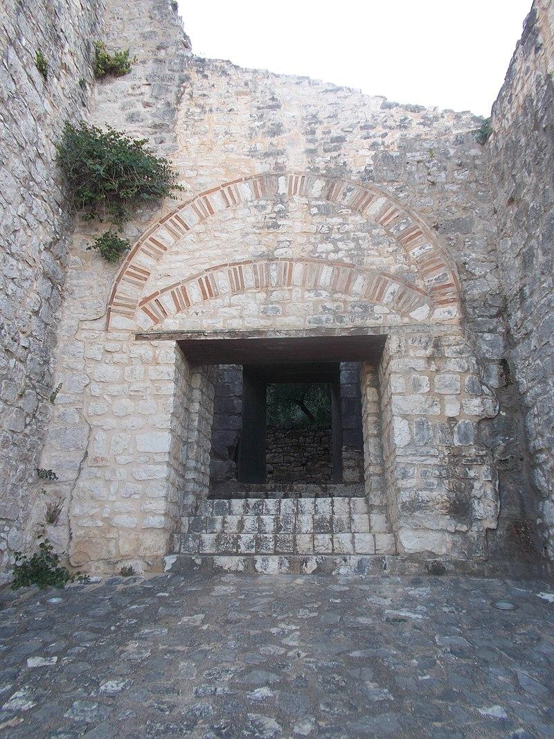 Main Gate Kassiopi Castle.JPG