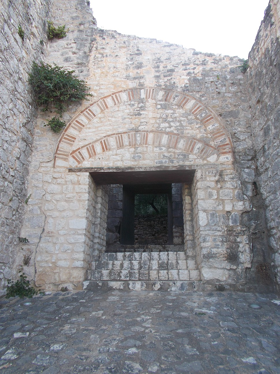 Main Gate Kassiopi Castle