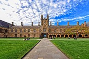 Main Quadrangle, University of Sydney