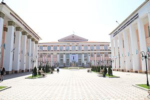 Main building, Kazak National Medical University.jpg
