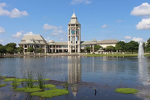 World Golf Hall of Fame - Hall of Fame building at World Golf Village.