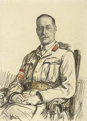 Herbert Watts - Portrait of Watts, 1917, by Francis Dodd