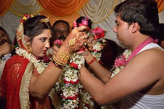 Bengali Hindus - traditional Bengali wedding