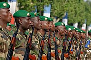 Malian troops Bastille Day 2013 Paris t091031