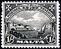 Malta 1926 1 shilling stamp.jpg