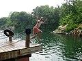 Man Jumping at Beaver Dam.jpg
