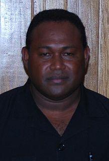 Manasseh Maelanga Solomon Islands politician