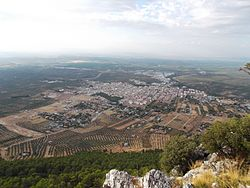 Skyline of Mancha Real, Spain