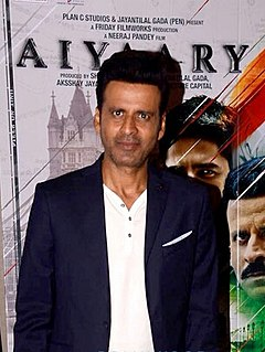Manoj Bajpayee Indian film actor