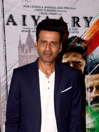 Manoj Bajpayee - Bajpayee at a promotional event for Aiyaary, 2018