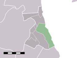 The statistical district of Warder in the former municipality of Zeevang.