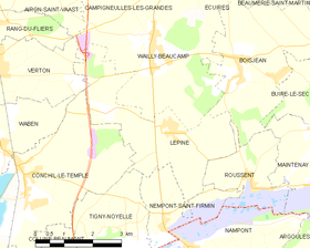 Map commune FR insee code 62499.png