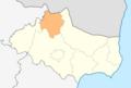 Map of Krushari municipality (Dobrich Province).png