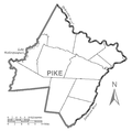 Map of Pike County, Pennsylvania No Text.png