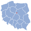 Map of Poland - Dobrzykow.png