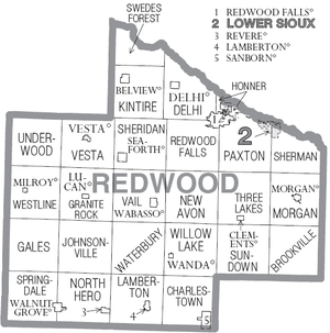 Redwood County Minnesota Wikipedia