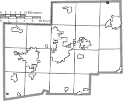 Location of Limaville in Stark County