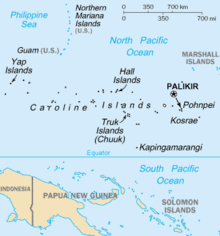 Outline of the federated states of micronesia wikipedia an enlargeable basic map of the federated states of micronesia publicscrutiny Gallery