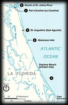 Spanish assault on French Florida - Wikipedia