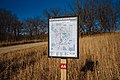 Maplewood State Park Map - Trail Intersection Marker AA (37721043396).jpg