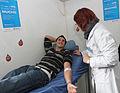 María Eugenia Vidal con la campaña de donación voluntaria de sangre (7396688818).jpg