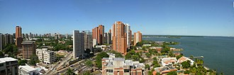 Maracaibo - Panoramic view of Maracaibo and Lake