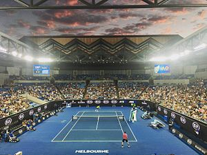 Margaret Court Arena - Margaret Court Arena during the 2017 Australian Open