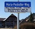 Maria Peskoller Weg, Villach Sankt Ruprecht, Kärnten.jpg