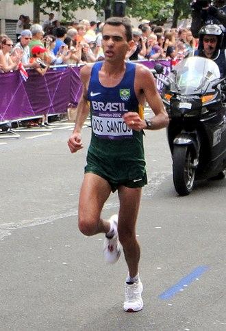 Brazil at the 2012 Summer Olympics - Marílson dos Santos in men's marathon