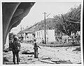 Marines in ruins of Guam town, 1944.jpg