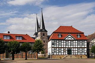 Derenburg Stadtteil of Blankenburg am Harz in Saxony-Anhalt, Germany