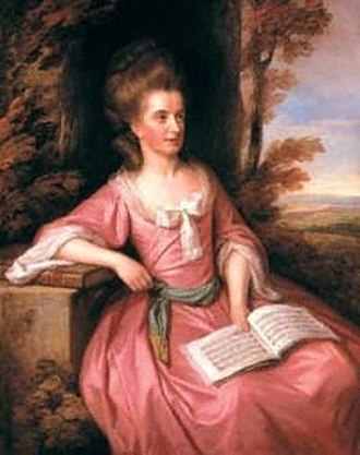 James Hackman - Martha Ray, portrait by Nathaniel Dance, 1777