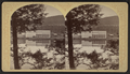 Martin's, Saranac Lake, from the west, by Stoddard, Seneca Ray, 1844-1917 , 1844-1917.png