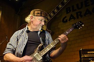 Martin Barre British guitarist