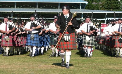 Massed Bands, 2005 Pacific Northwest Highland Games