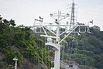 Mast of JS Hashidate(ASY-91) left front view at JMSDF Yokosuka Naval Base April 30, 2018.jpg