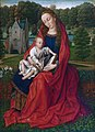 Master of the Embroidered Foliage - Virgin and Child in a Landscape - PMA 2518FXD.jpg