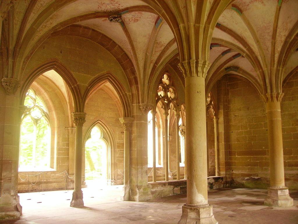 Maulbronn Kloster Kreuzgang Kapitelsaal 3