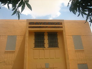 Maverick County, Texas - The Maverick County Jail, established 1949, is adjacent to the county courthouse.