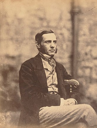 1860 Boden Professor of Sanskrit election - Max Müller, photographed in 1857 by Lewis Carroll