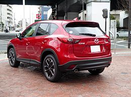 Mazda CX-5 XD L Package (KE) rear.JPG