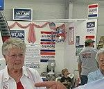McCain-Gilmore booth New River Valley Fair (2710139771).jpg