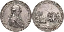 Medal commemorating the Austrian Victory over the Ottoman Empire and the Siege of Belgrade. (Source: Wikimedia)
