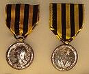 Décorations Françaises 130px-Medaille_du_Dahomey_Loi_du_12_Novembre_1892