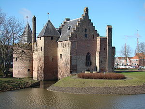 Radboud Castle - Image: Medemblik wognum 039