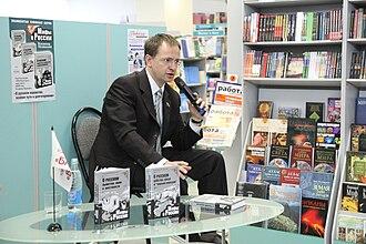 Vladimir Medinsky - Medinskiy present his books in Ryazan, 2009