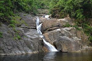 Meenmutty Falls, Thiruvananthapuram - Meenmuty waterfall, Thiruvananthapuram, Kerala